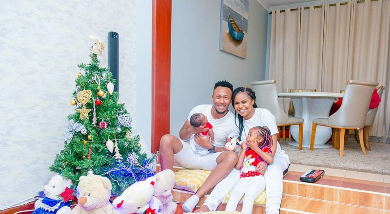 Singer Size 8 and DJ Mo unveil son's face for the first time (Photo)