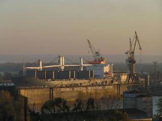 Stocznia w Szczecinie jest przygotowywana do budowy dużych jednostek