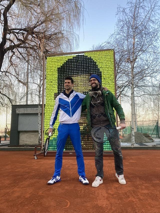 Novak Đoković i Andrej Josifovski