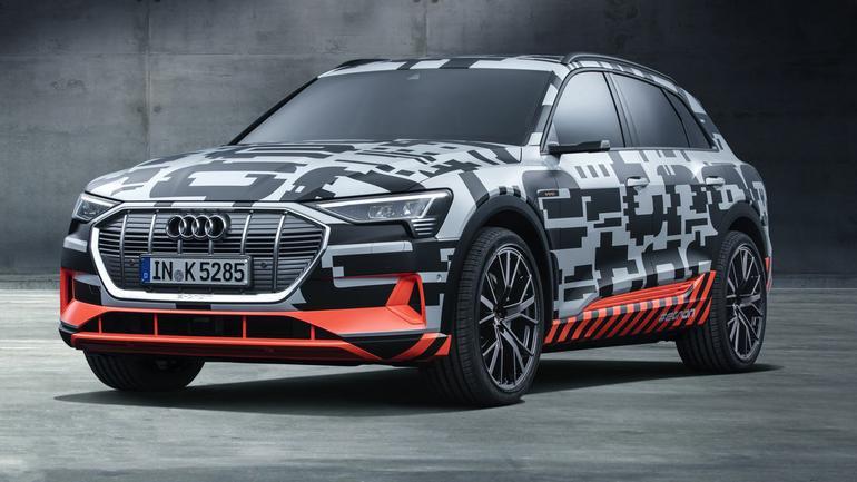 Audi e-tron: Genewa 2018