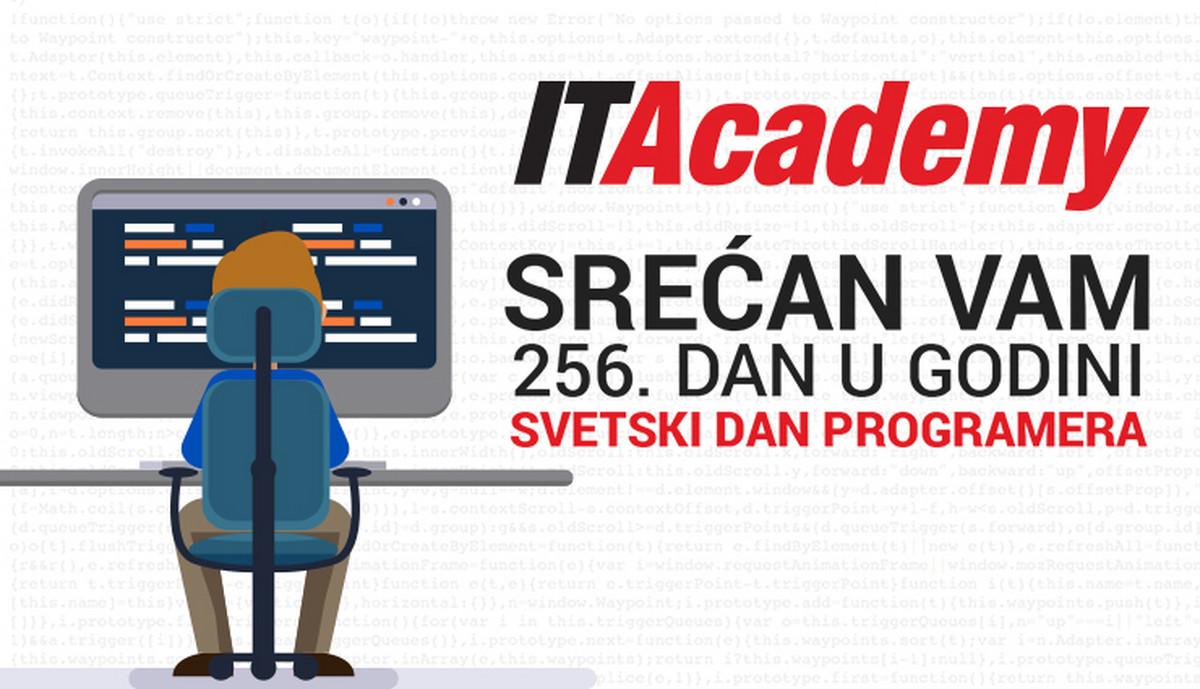 ITAcademy vam za Dan programera POKLANJA PREKO 600€ POPUSTA