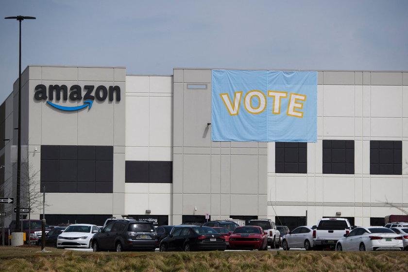 Amazon. Głosowanie ws. związków zawodowych