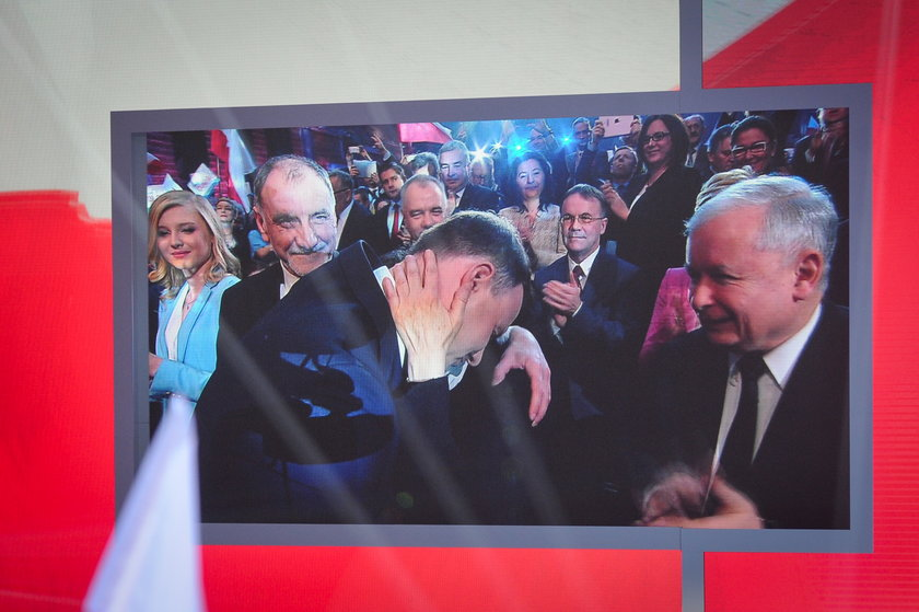 Prof. Janina Milewska - Duda, matka Andrzeja Dudy, kandydata na prezydenta RP ma konwencji PiS