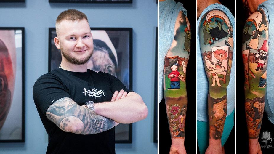 Sersky z Aerograffitink Tattoo Studio w Sosnowcu