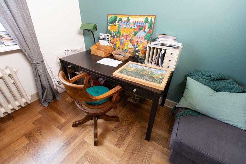 Pokój gościnny w mieszkaniu Pauliny Holtz