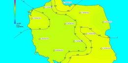 Radioaktywny jod w powietrzu nad Polską