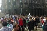 Protest stanara Stepa Stepanović ispred Vlade Srbije