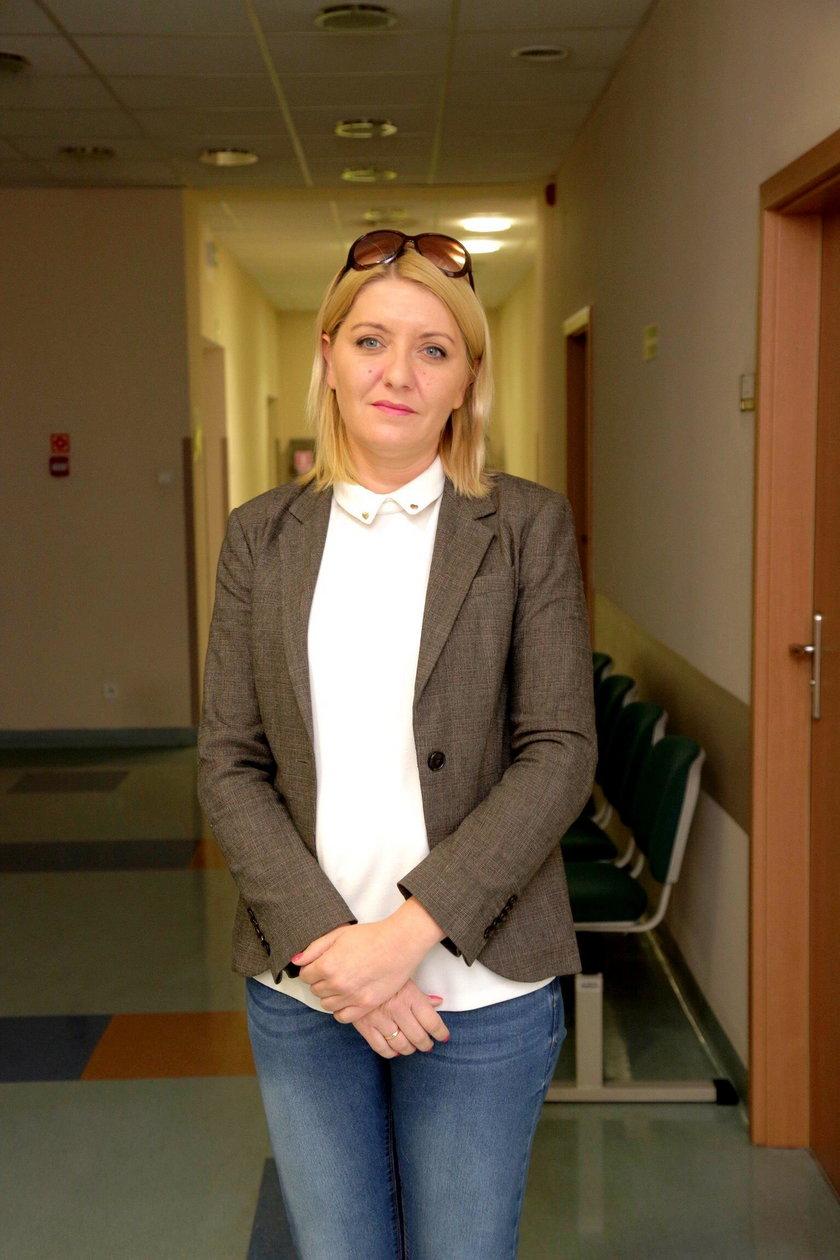 Beata Dressler (41 l.), kierownik wydziału analiz list oczekujących w NFZ