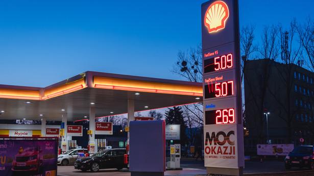 Stacja paliw Royal Dutch Shell
