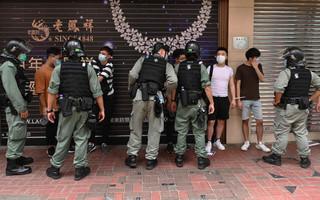 Protesty przeciwko nowemu prawu w Hongkongu, ponad 300 zatrzymanych