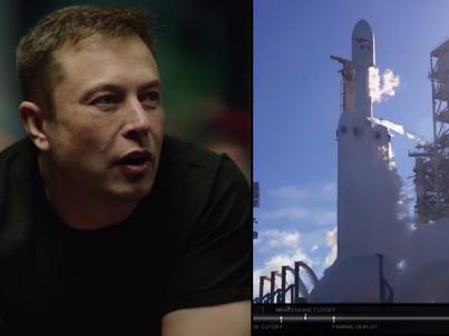 Gdy Falcon Heavy startował z Przylądka Canaveral, zespół SpaceX śledził ten moment z centrum kontroli lotów w Hawthorne
