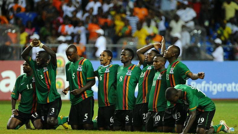 Piłkarze reprezentacji Zambii