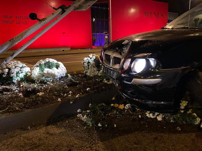 Kierowca rovera został zatrzymany po chwili w mieście. To Ukrainiec