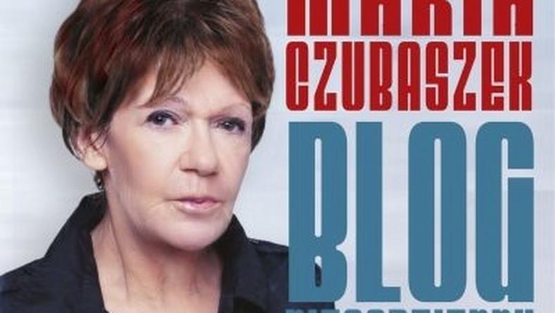 """okładka książki Marii Czubaszek """"Blog niecodzienny"""""""