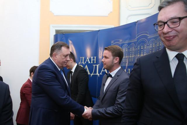 Milorad Dodik i Draško Stanivuković
