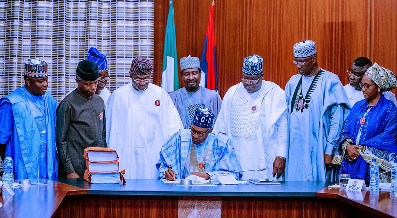 President Buhari signs 2020 budget into law – here are the key takeaways from the $34.62 billion budget