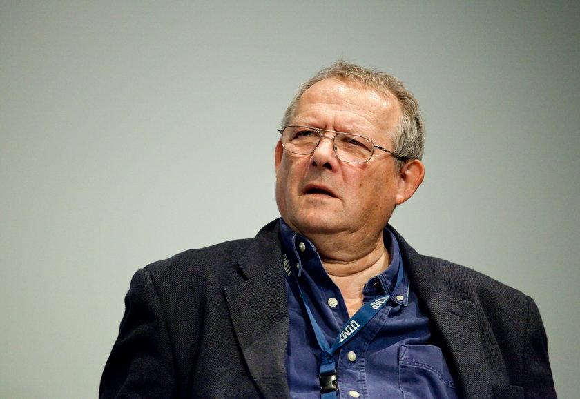 Adam Michnik, redaktor Gazety Wyborczej