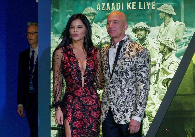 Loren Sančez i Džef Bezos
