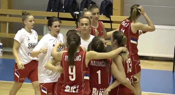 Mlada ženska košarkaška reprezentacija Srbije