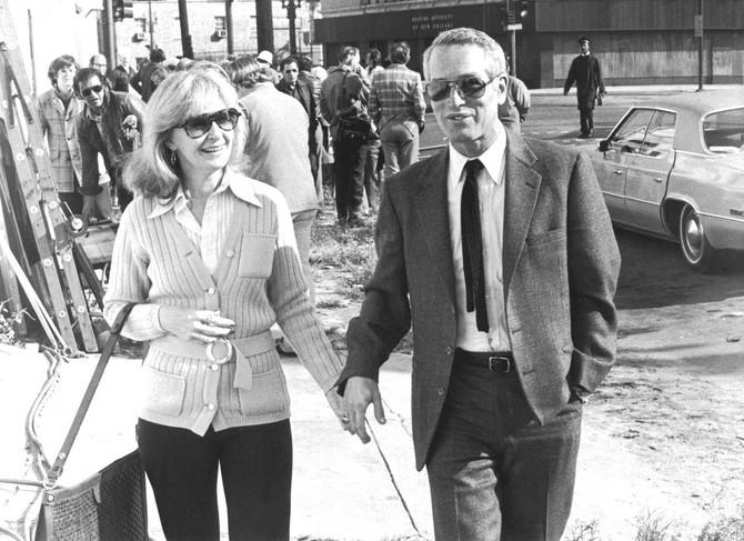 Pol Njuman i Džoana Vudvord