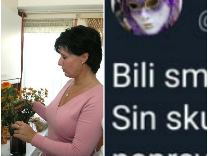 """Vesna se na Tviteru požalila da je došla kod sina i snaje i POČEO JE RAT: """"Sin me je poslužio a SIGURNO SE PITATE GDE JE BILA SNAJA - EVO GDE"""""""