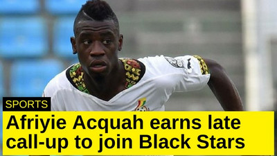 Afriyie Acquah earns late call-up to join Black Stars
