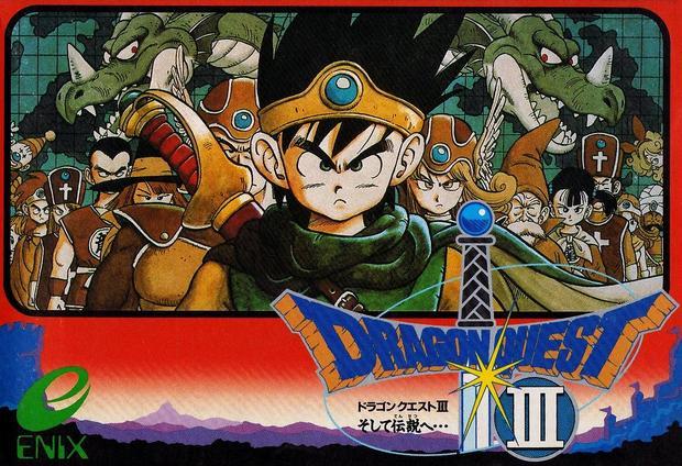 Dragon Quest III - kogo przypomina wam bohater okładki?
