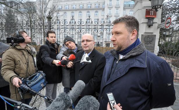 Marcin Kierwiński (na pierwszym planie)