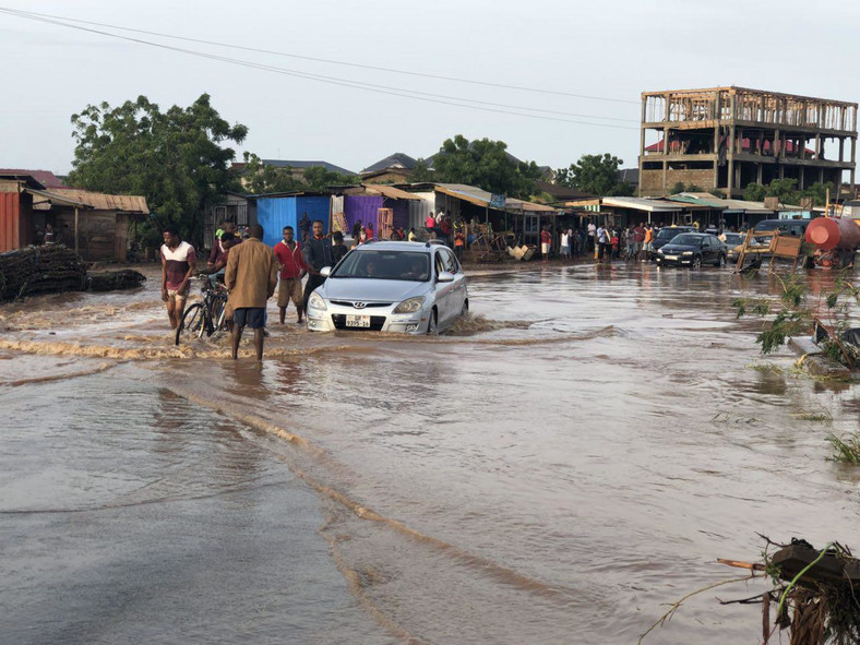Accra floods again