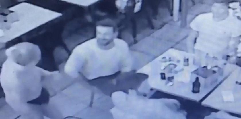 Przystojniak obmacywał i poniżał kelnerkę. Tego się nie spodziewał