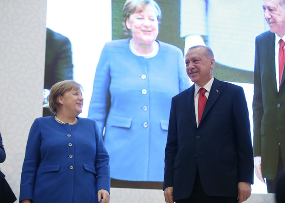 Angela Merkel i Redžep Tajip Erdogan