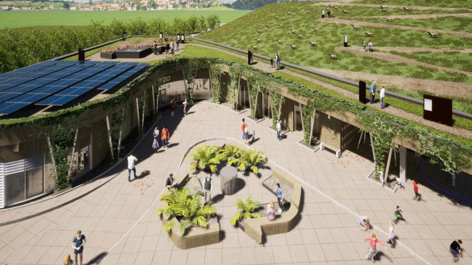 Centrum Edukacji Ekologicznej dla Przedsiębiorstwa Zagospodarowania Odpadów w Gliwicach, autor projektu: STUDIO BB ARCHITEKCI