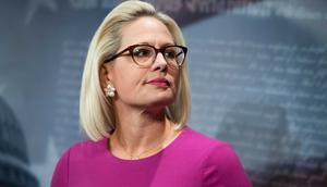Senator Kyrsten Sinema of Arizona.