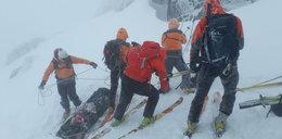 Tragedia w Tatrach. Nie żyje para narciarzy