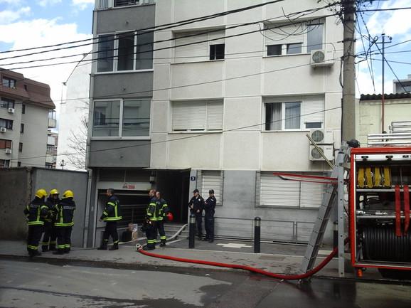 Zgrada u kojoj se dogodila eksplozija