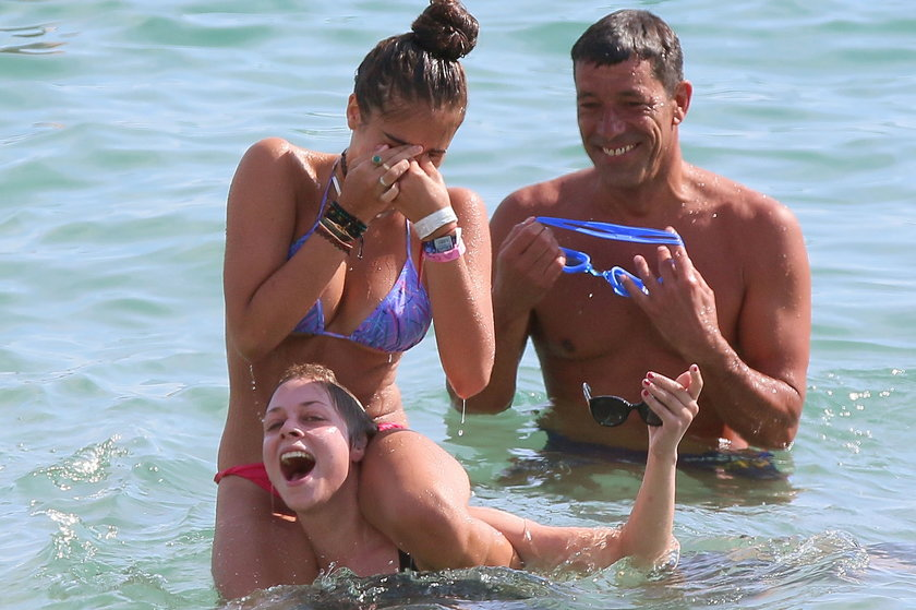 Córka Madonny, Lourdes Leon, w bikini