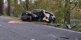 Straszny wypadek koło Słubic. 26-latek walczy o życie