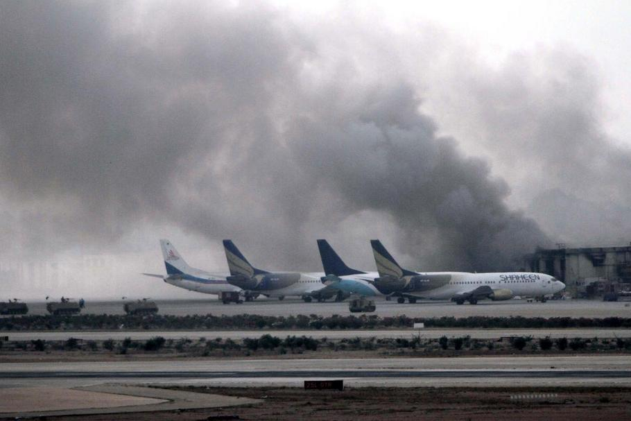 PAKISTAN AIRPORT ATTACK