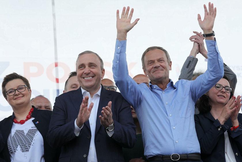 Marsz w Warszawie. Jest i Donald Tusk!
