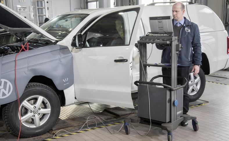 Pierwszym autem, które naprawiono oficjalnie był volkswagen amarok z jednostką 2.0 TDI