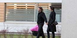 Dorota Gardias z rodziną na spacerze. Stylowi?