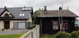 Kawałek domu mamy po stronie sąsiada
