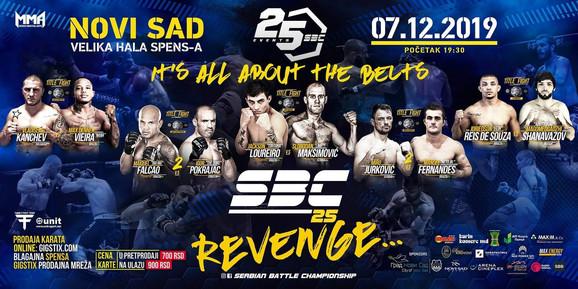 MMA noc sampiona Spens dec 2019