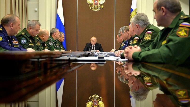 Putin nie wyśle swoich generałów na wojnę z Zachodem, fot. kremlin.ru