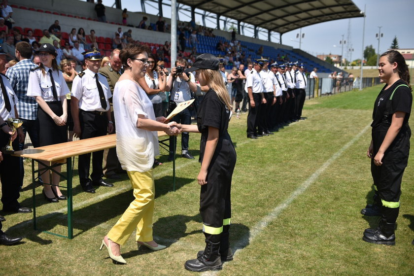 Ewa Kopacz, premier i szefowa PO