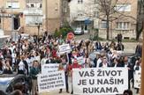 Protest lekara u Mostaru
