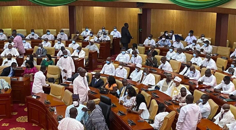 Ghana's 8th Parliament inaugurated
