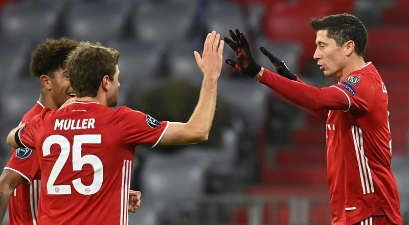 Bayern reach last 16 as Lewandowski matches Raul goal tally