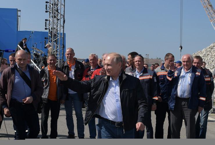 Krimski most Vladimir Putin