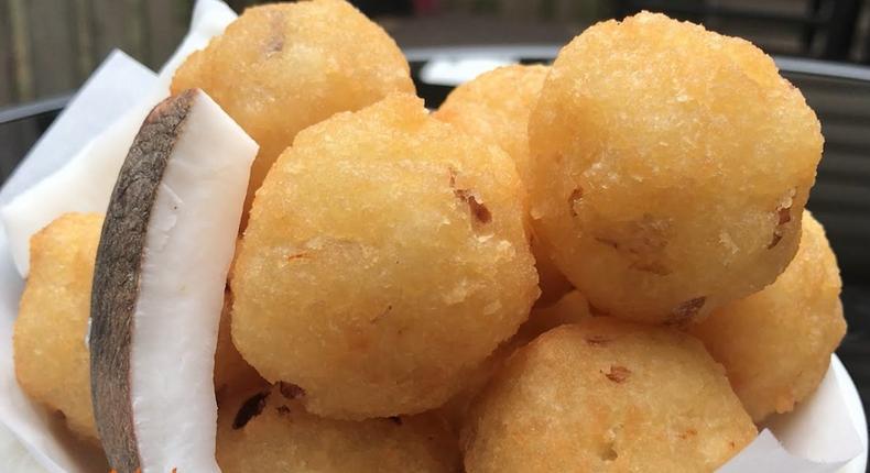 Agbeli/Bankye Kaklo (Cassava Croquettes)